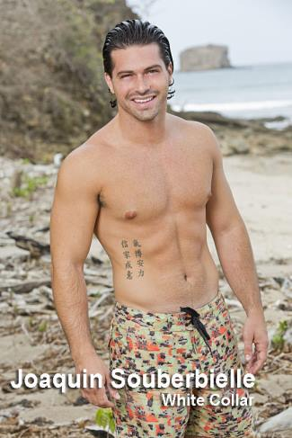 Joaquin-Souberbielle-shirtless-survivor-worlds-apart