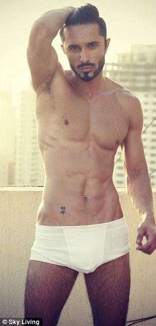 Owais Khan shirtless underwear - desi rascals
