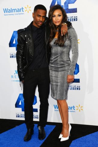 celebrities wearing BLK DNM leather jacket - big sean
