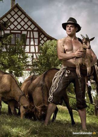 hot farmers calendar - shirtless and sexy