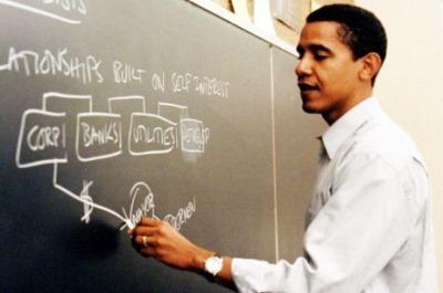hot male teachers - barack obama