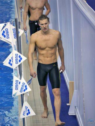 jammer swimsuit for men - adidas - unnamed swimmer