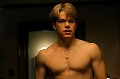 matt damon shirtless good will hunting