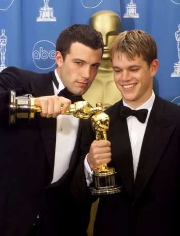 matt damon young oscar award - good will hunting