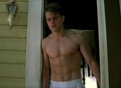 matt damon young underwear - high rise boxer shorts