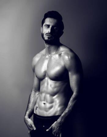 owais khan shirtless abs