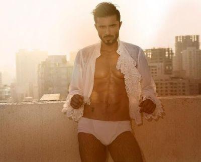 owais khan underwear - white briefs