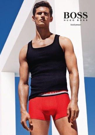 Mens Underwear 2015 - Garrett-Neff-Hugo-Boss-Bodywear-Underwear-Campaign