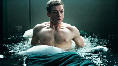 Taron Egerton shirtless sexy body2