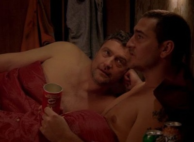 Vincent Regan gay with willmellor - the street2x