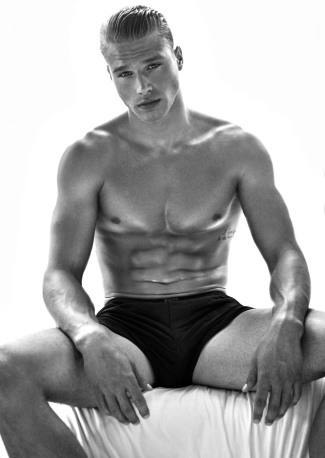 constuction hunk 2015 - Matthew Noszka - boxer shorts