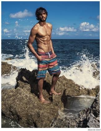 mens beach shorts 2015 - Marlon Teixeira for Agua De Coco