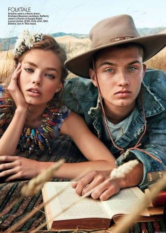 mens denim jeans 2015 - ralph lauren - Rafferty Law with Kristine Froseth - teen vogue