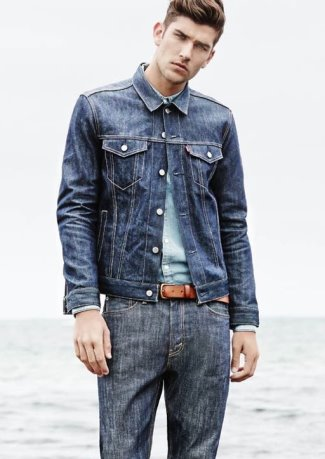 mens jeans 2015 - myer jeans with model Jack Vanderhart