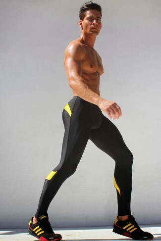 mens leggings 2015 - male model2