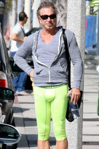 mens leggings 2015 - mickey rourke leggings