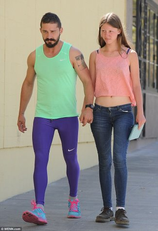 mens leggings 2015 - shia la beouf leggings