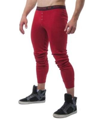 mens long johns underwear 2015 - nasty pig santaclaus red