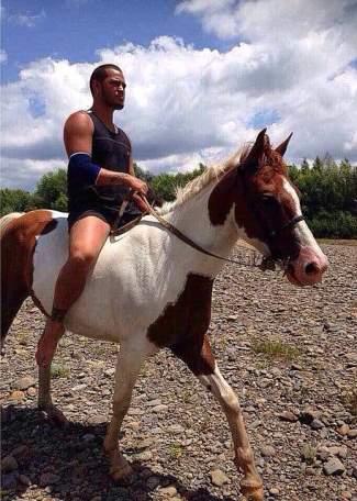 stan walker body - x factor nz hunk judge - horse riding