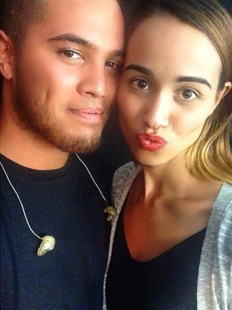 stan walker girlfriend - lou tyson - Everyone give this girl a follow Shes the better half of me well she thinks she is hahaha