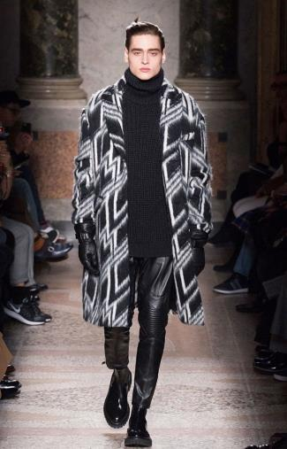 mens turtleneck 2015 - Les Hommes Fall-Winter 2015 Menswear Collection - milan fashion week
