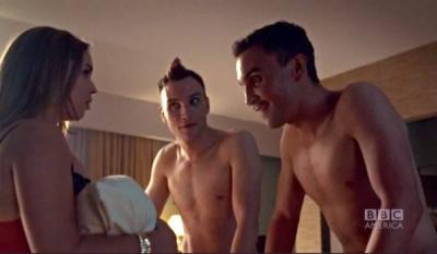 Ari Millen shirtless