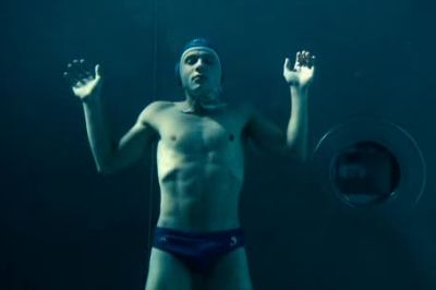 Max Riemelt Speedo in The Wave