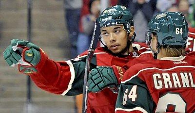 asian hockey players in the nhl - mathew dumba - minnesota wild