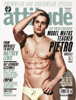 hot italian man in speedo swimwear 2015 Pietro Boselli