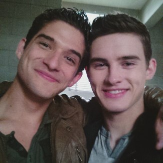 michael johnston actor - teen wolf mtv - with tyler posey
