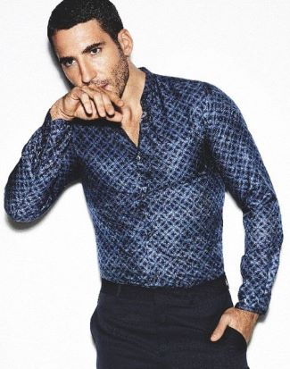 miguel angel silvestre sexy clothes by roberto cavalli