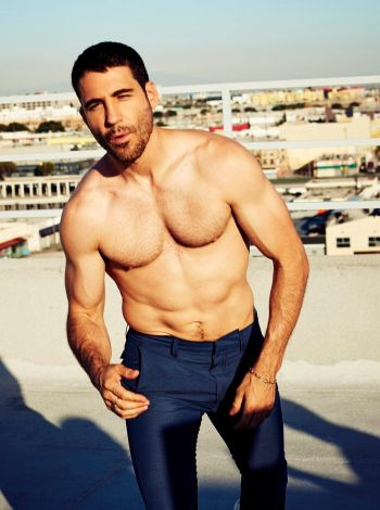 miguel angel silvestre shirtless spanish hunk