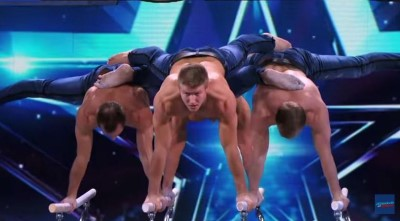 showproject - gymnast hunks on americas got talent