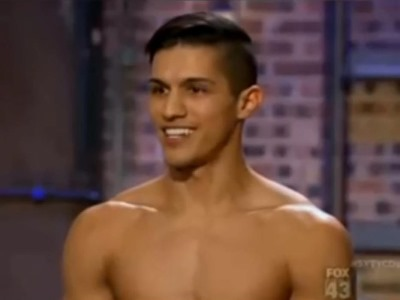 Edson Juarez shirtless - sytycd - so you think you can dance
