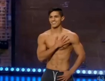 Edson Juarez shirtless - sytycd - so you think you can dance2