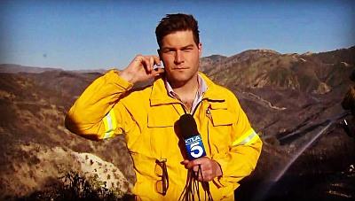 John Fenoglio ktla journalist on location