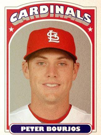 Peter Bourjos baseball card