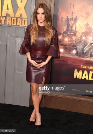 Riley-Keough-In-Alexander-McQueen-Pre-Fall2015-Mad-Max-Fury-Road-LA-Premiere