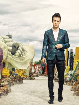 brendon urie leather pants