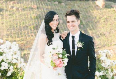 brendon urie wedding to wife Sarah Orzechowski