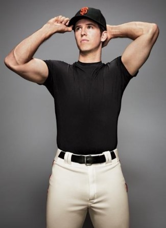 buster posey hot baseball player