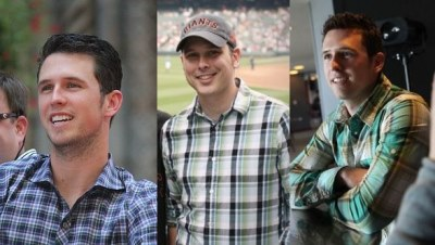 buster posey plaid shirt fashion