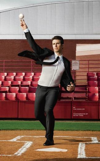 buster posey sexy suit - mens health