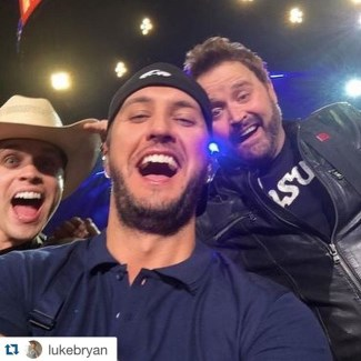 dustin lynch luke bryan and randy houser