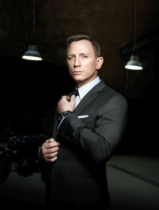 James Bond Spectre Omega Seamaster 300 on Daniel Craig