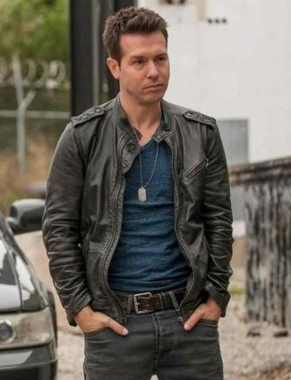 jon seda antonio dawson chicago pd leather jacket