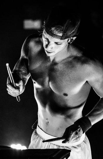 josh dun shirtless body