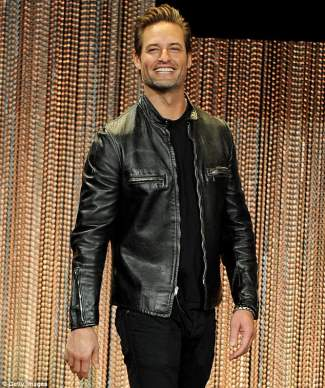 josh holloway leather jacket - red carpet - lost 10th anniversary