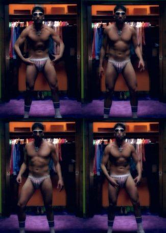 mens bikini briefs - jon bernthal underwear in bar starz