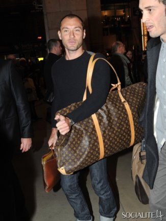 mens designer bags 2015 - jude law louis vuitton